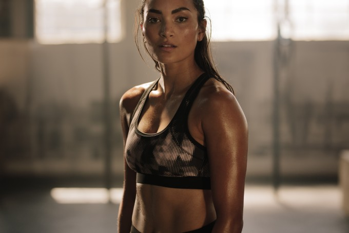 mulher-treinando