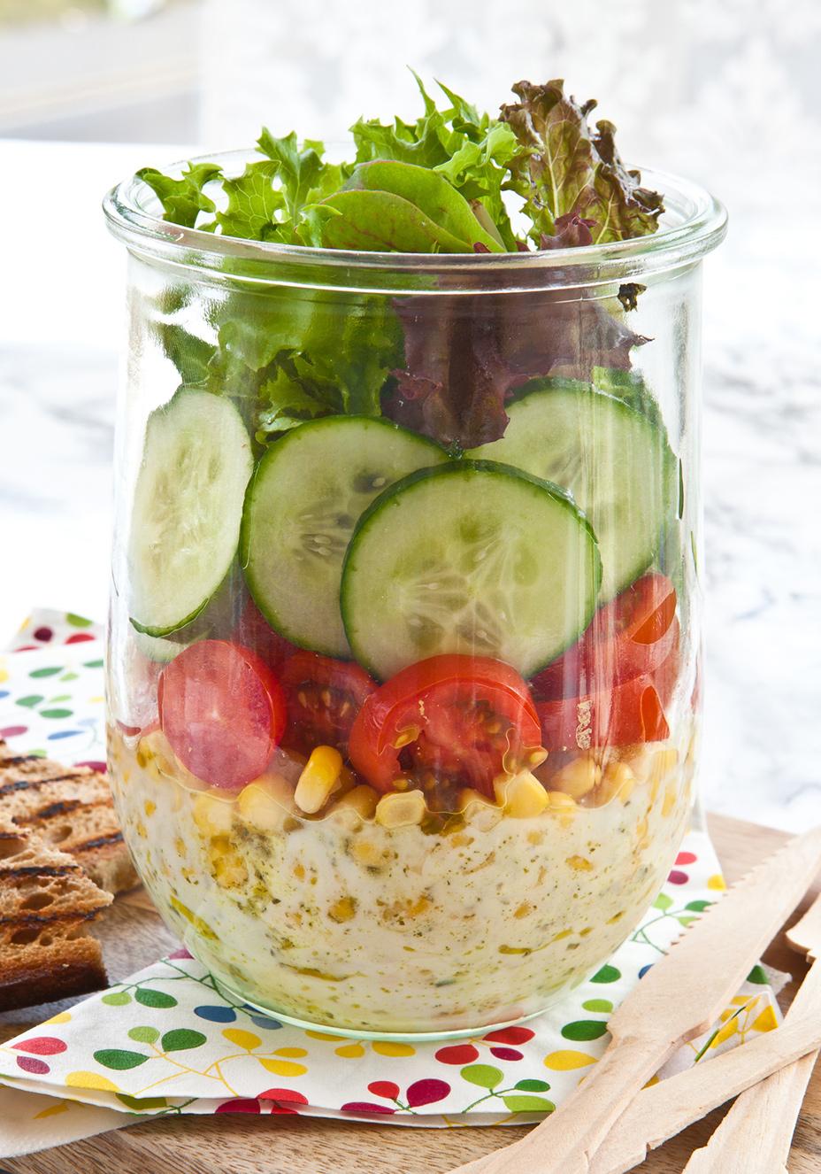 Salada No Pote O Passo A Passo Para Montar A Receita Perfeita Boa Forma