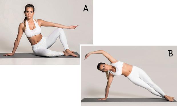 Flexão lateral