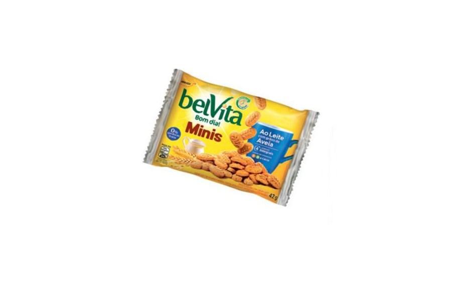 A versão míni do biscoito Belvita não é light, mas cabe na dieta: o pacotinho (42 g, R$ 1,99) fornece 190 calorias – quantidade recomendada num lanchinho leve. À base de cereais integrais.Preços pesquisados em novembro de 2016.