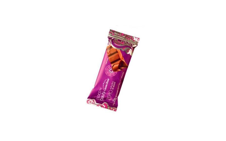 O Chocobeauty zero açúcar com chia e colágeno, da Beauty'in by Cacau Show, ganhou a versão em tablete (20 g, R$ 2,90). Com maltitol, adoça o paladar com 101 calorias.Preços pesquisados em outubro de 2016.