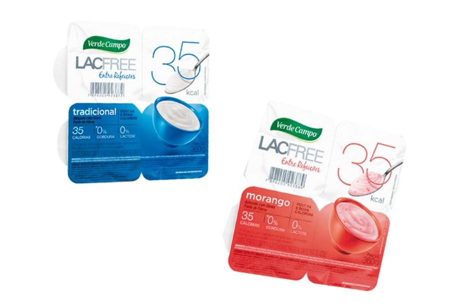 A Verde Campo lançou o iogurte Lacfree 35. Como o nome já diz, o potinho (90 g) tem apenas 35 calorias – ideal para um lanche leve. Adoçado com estévia (R$ 7,98*, quatro unidades).<em>*Preço pesquisado em fevereiro de 2017</em>