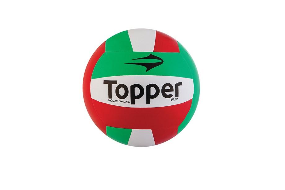 Bola de Vôlei Fly Fusionada, Topper, de R$ 69,99 por R$ 54,90. Encontre em www.netshoes.com.br