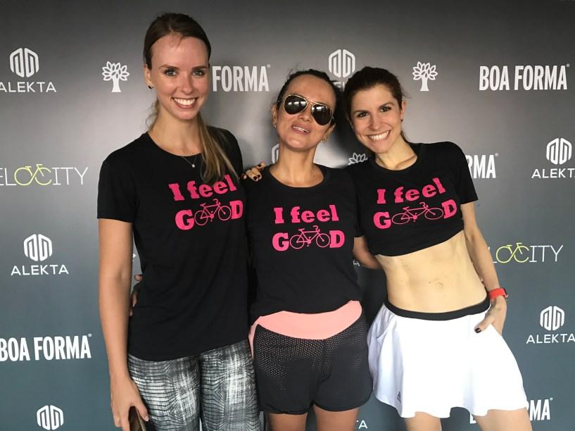 """Trio de culinaristas parceiras da BOA FORMA: Monica Wagner (<a href=""""https://www.instagram.com/monicawwagner/"""" target=""""_blank"""">@monicawwagner</a>), Alexandra Vaz, do<a href=""""https://www.instagram.com/petit_a_petite/"""" target=""""_blank"""">@petit_a_petite</a>, e Gabi Castejon, do <a href=""""https://www.instagram.com/farofafit/"""" target=""""_blank"""">@farofafit</a>"""