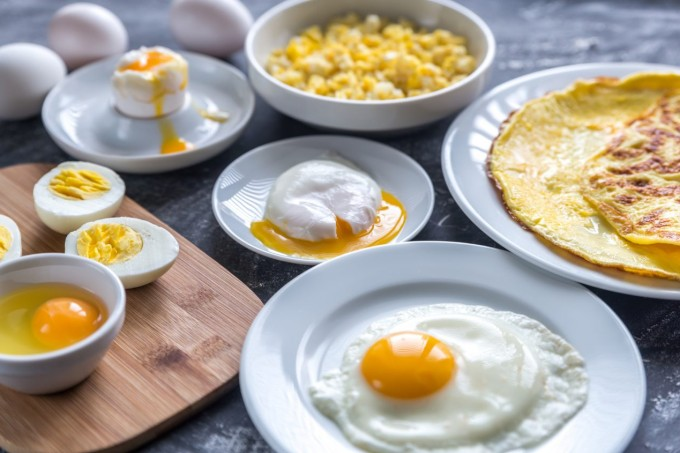 Ovos ovo de vários jeitos