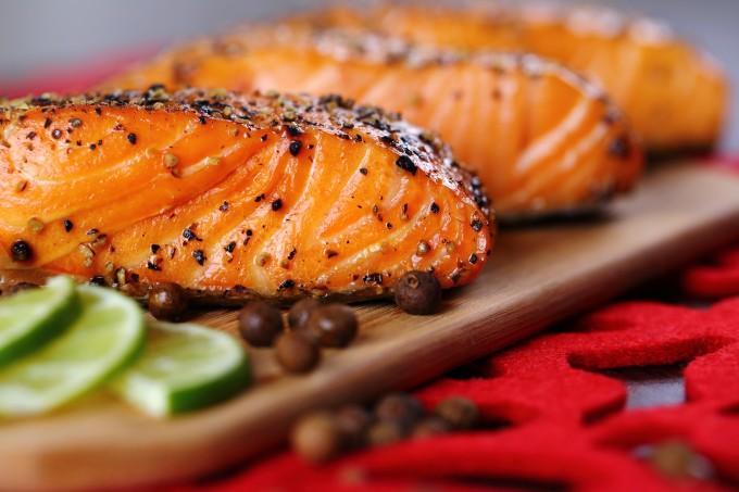 salmão-grelhado