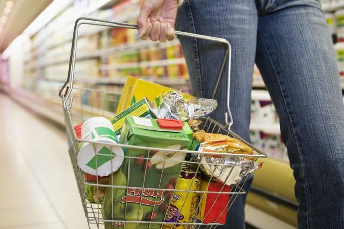 cesta de supermercado