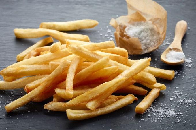 sódio batata frita