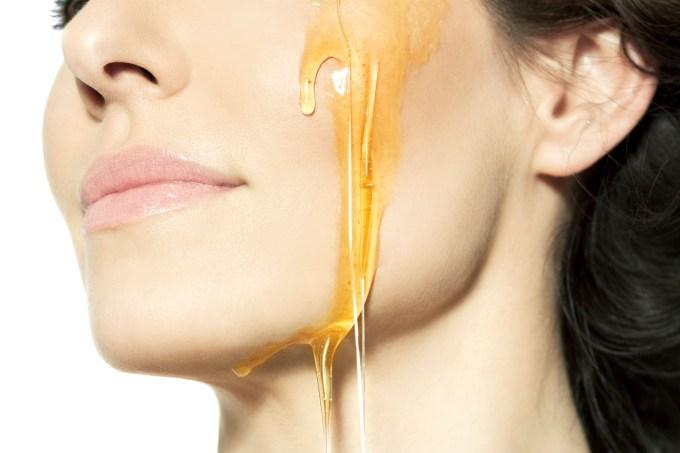 Produtos de beleza com mel