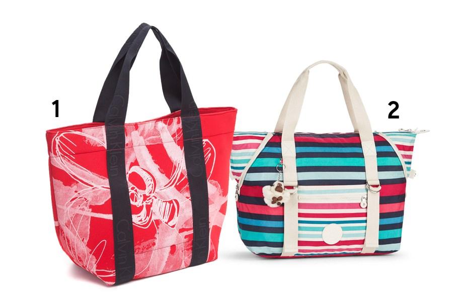 """<b><span>1. Bolsa, <a href=""""http://explore.calvinklein.com/pt_BR/"""" target=""""_blank"""" rel=""""noopener"""">Calvin Klein Jeans</a>, R$ 380; 2.</span></b><b><span>Bolsa Art M, <a href=""""http://www.kipling.com.br/"""" target=""""_blank"""" rel=""""noopener"""">Kipling</a>, R$ 750</span></b><span>(Preços pesquisados em agosto de 2017). </span><span>Sabe aquele dia corrido em que, além do treino e do trabalho, tem encontro com as amigas e compromissos na rua? Essas opções são ótimas para comportar todo o seu material da academia sem perder o estilo.</span>"""