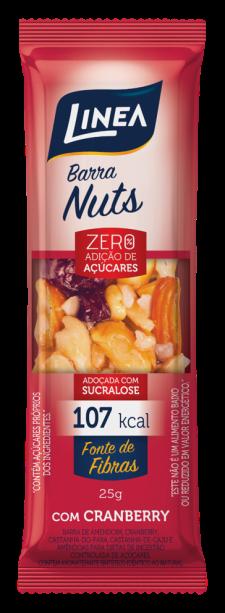 A Barra Nuts é um curinga: pode ser consumida entre refeições ou para garantir a energia do treino.