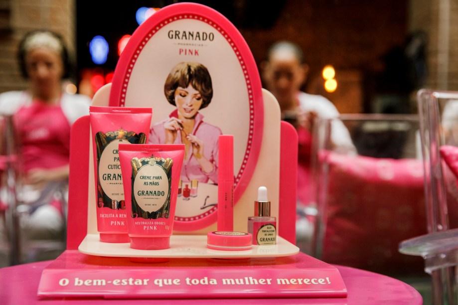 Outros produtos da LINHA GRANADO PINK foram testados pela mulherada...