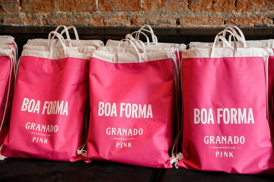 Kits BOA FORMA e Granado Pharmácias foram distribuídos para todas as alunas