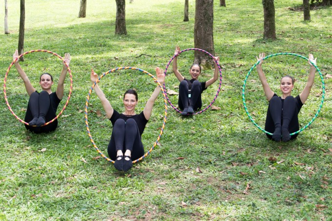 Aula Bamballet mulheres no parque