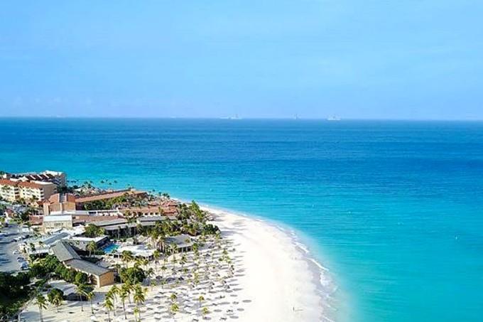 Aruba-praia