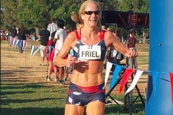 Maratonista Molly Friel