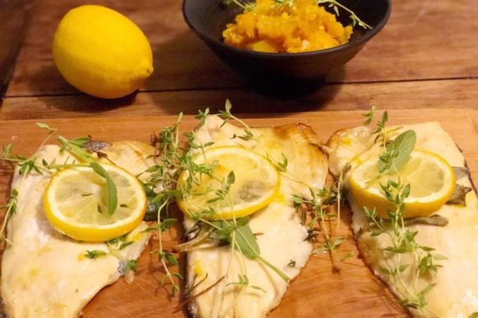 Truta-ervas-limão-siciliano