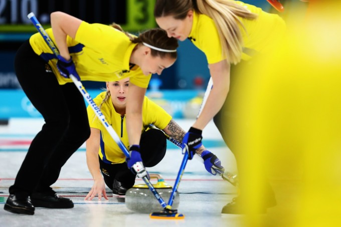 Curling time Suécia