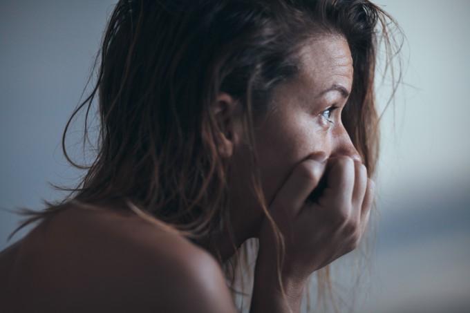 mulher-com-depressão