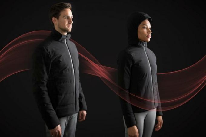 Jaqueta inteligente que ajusta calor