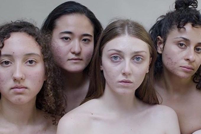 Mulheres que participaram de vídeo sobre o movimento #FreeThePimple