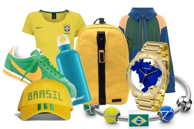Peças de roupa e acessórios para usar na Copa