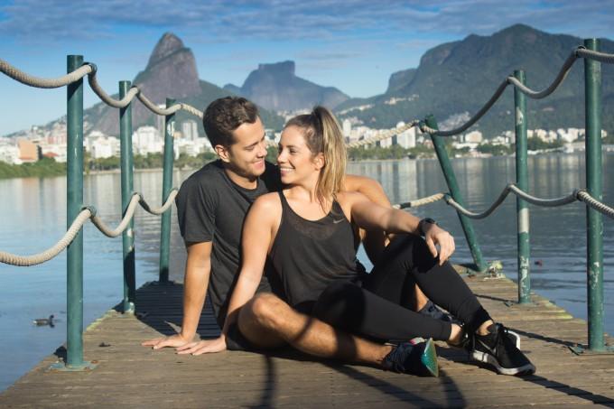 Janaína Gunter e Victor Siqueira