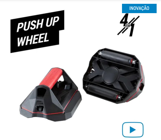 Treino com o Push Up Wheel