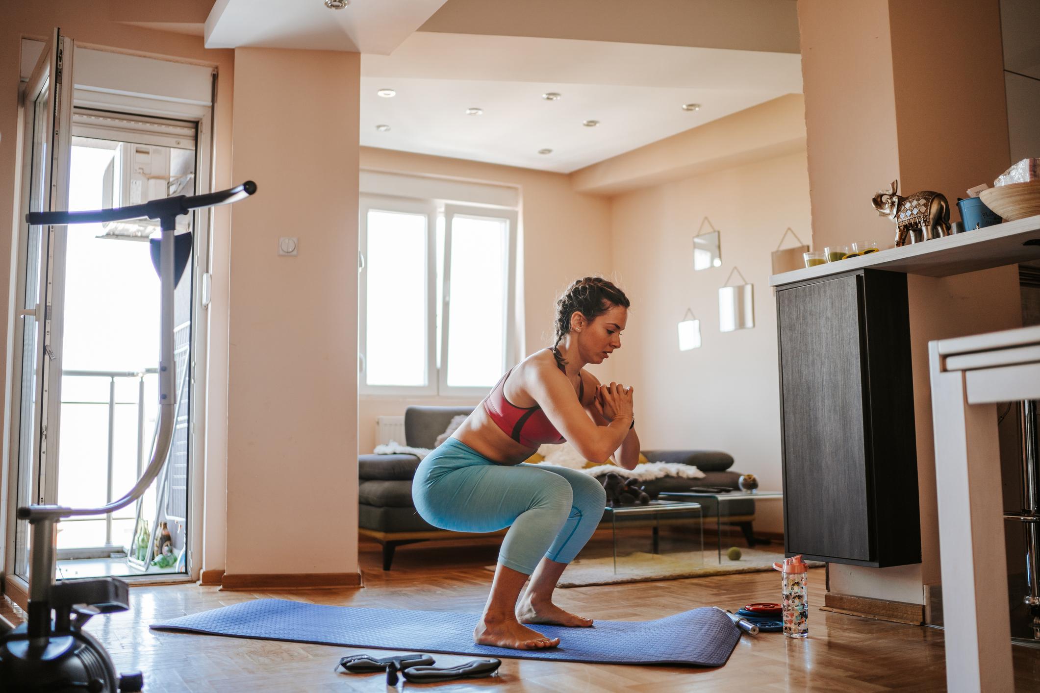 Como treinar em casa