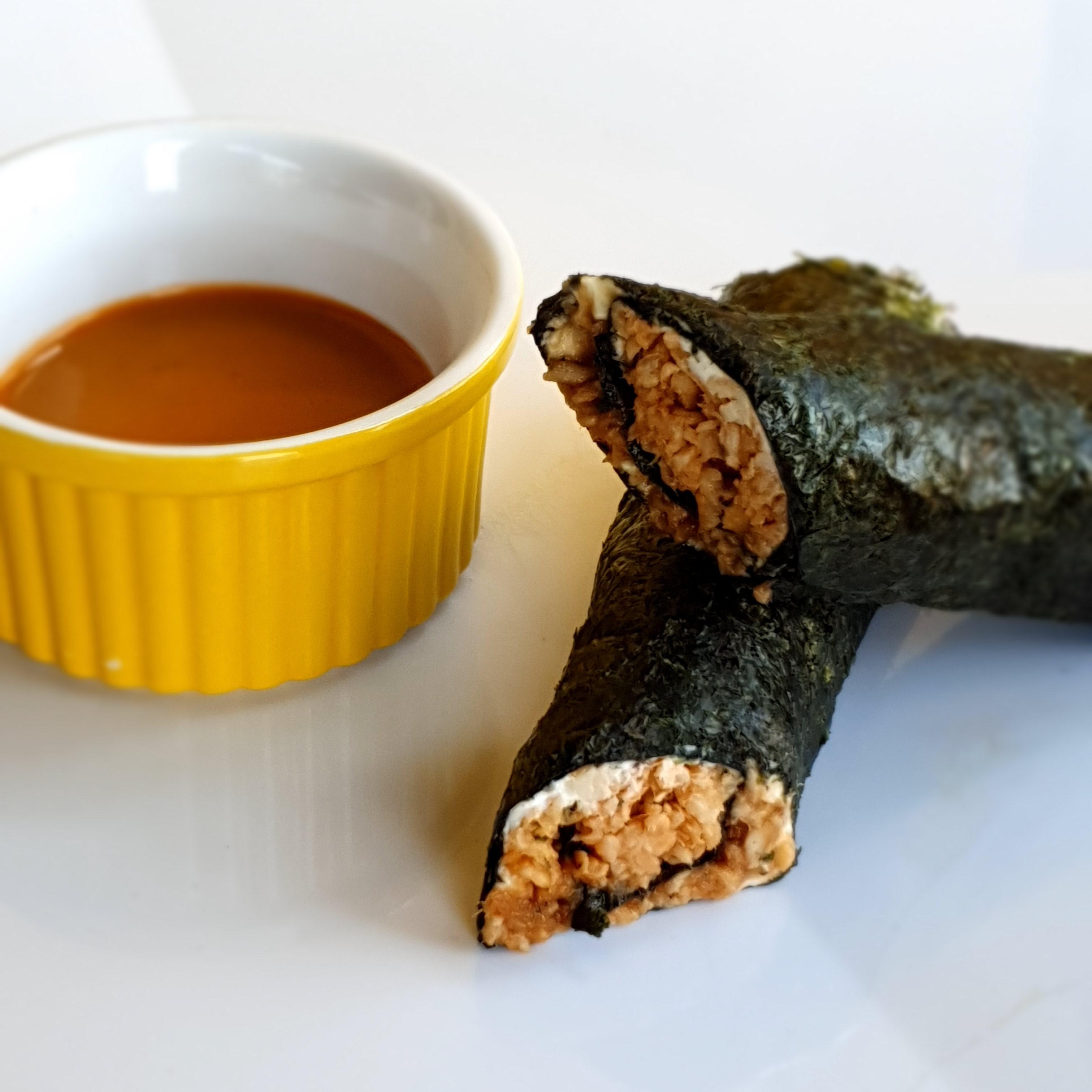 wrap japonês low carb