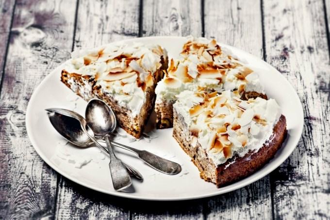 Receita de torta de coco low carb