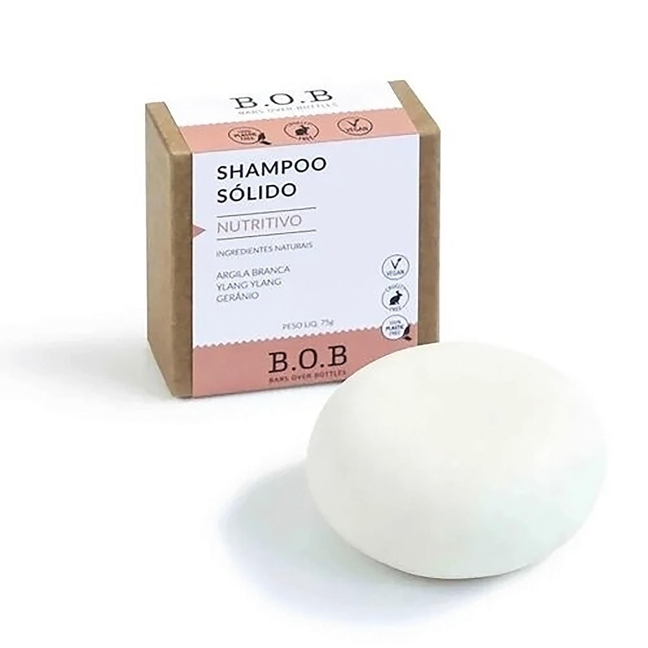 B.O.B Shampoo Nutritivo em Barra