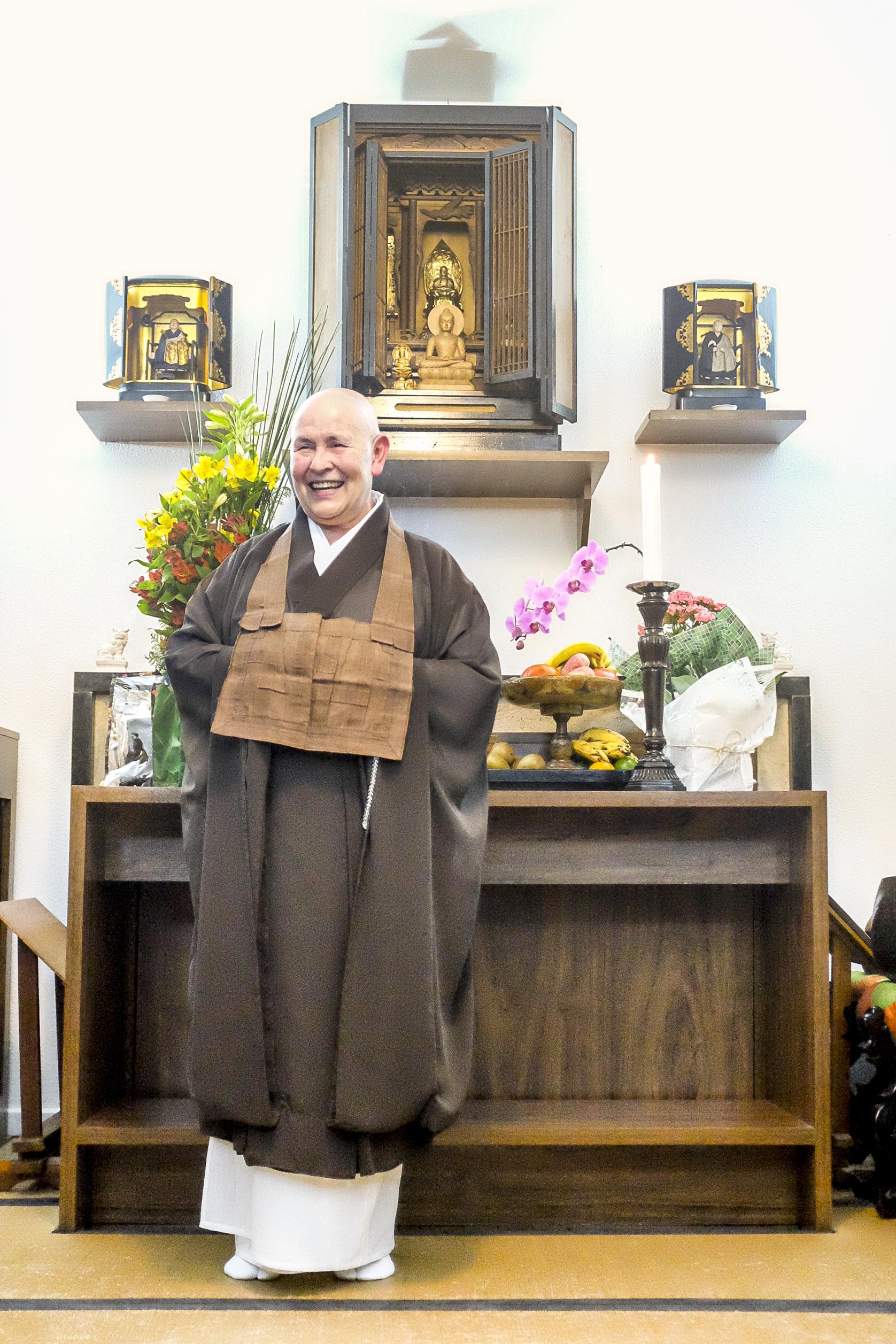 """Monja Coen: """"Minha tarefa como monja zen budista é provocar as pessoas a despertar, sentir prazer na existência, viver uma vida agradável e saudável para você e para todos"""""""