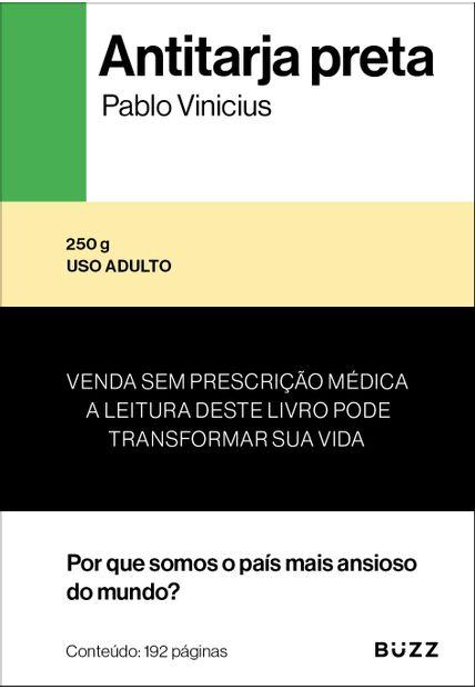 livro antitarja preta