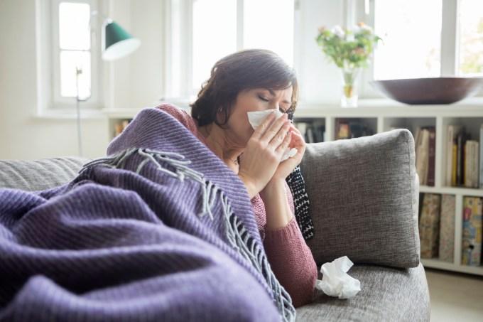 Como evitar um resfriado antes de começar