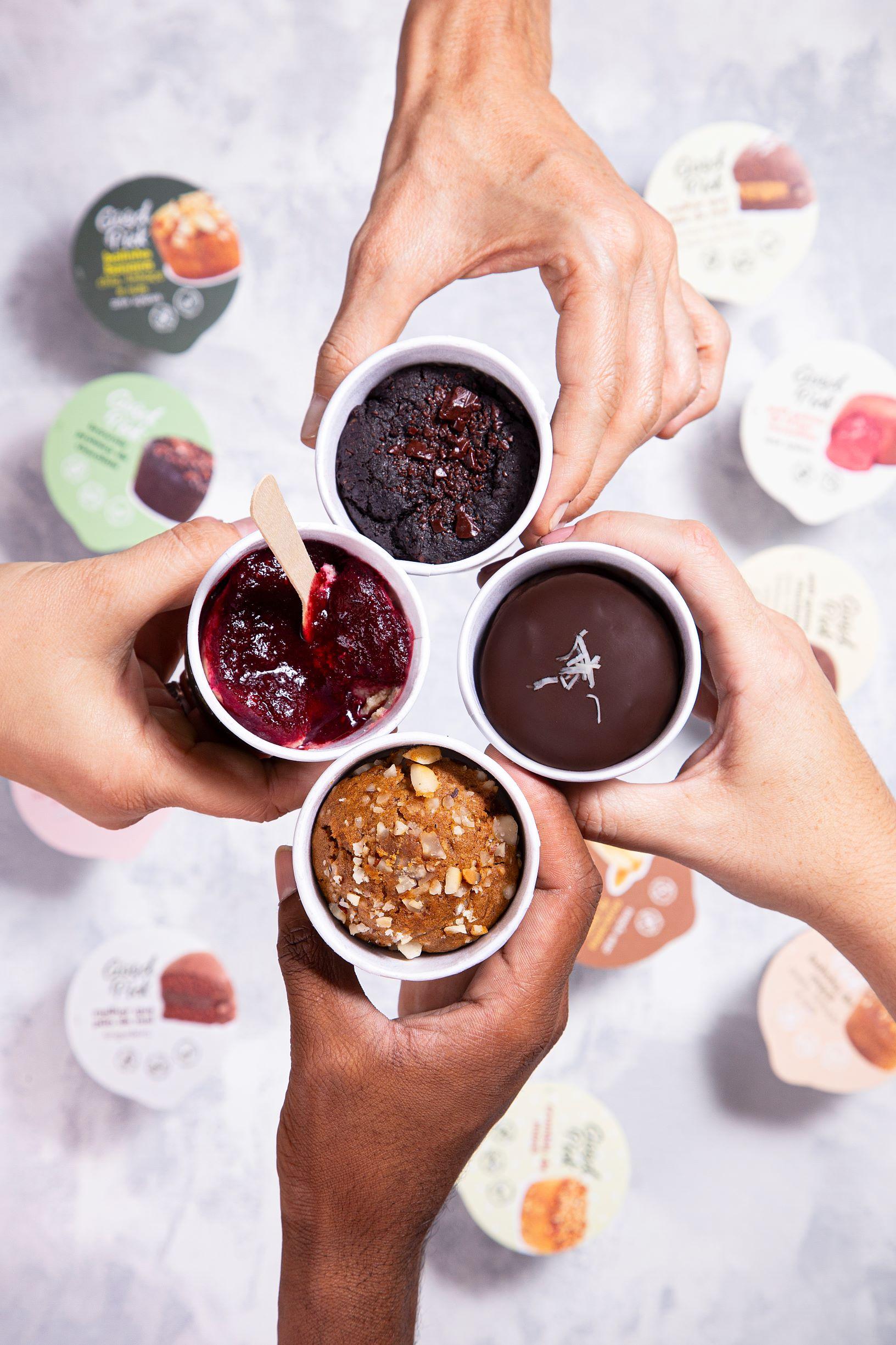 Sobremesas em porções individuais: congelamento ultra rápido permite abrir mão dos conservantes químicos