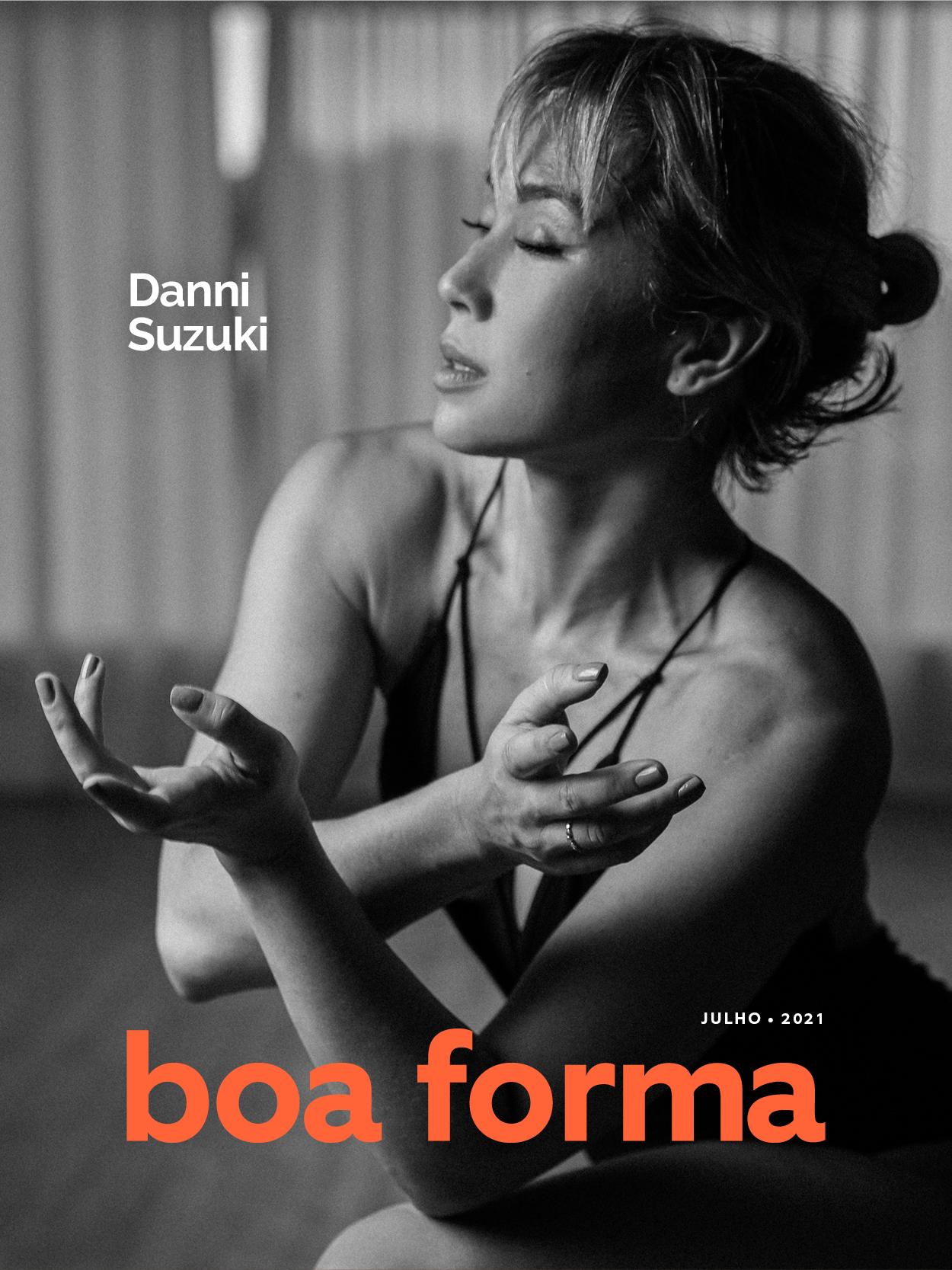 Danni Suzuki: estrela da capa de julho da Boa Forma